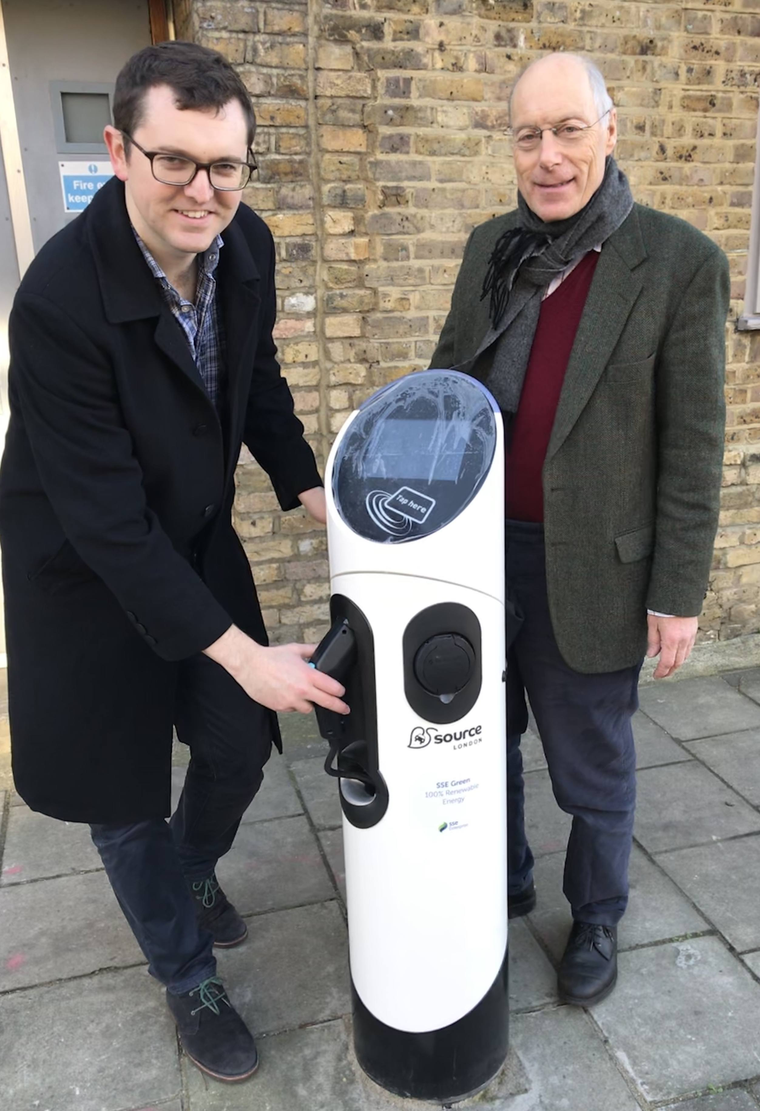 Your local electric charging points