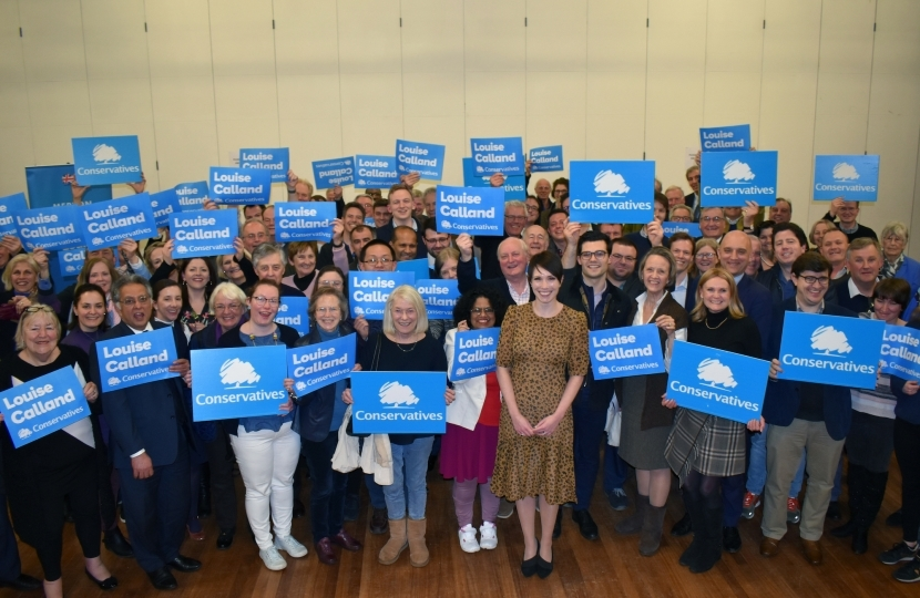 Merton & Wandsworth Conservatives celebrating Louise's recent selection