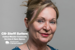 Cllr Steffi Sutters, Cabinet Member for Community Services & Open Spaces